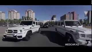 Свадебный кортеж Казахстан