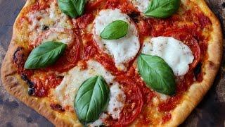 Margherita Pizza Recipe / Homemade Pizza Recipe