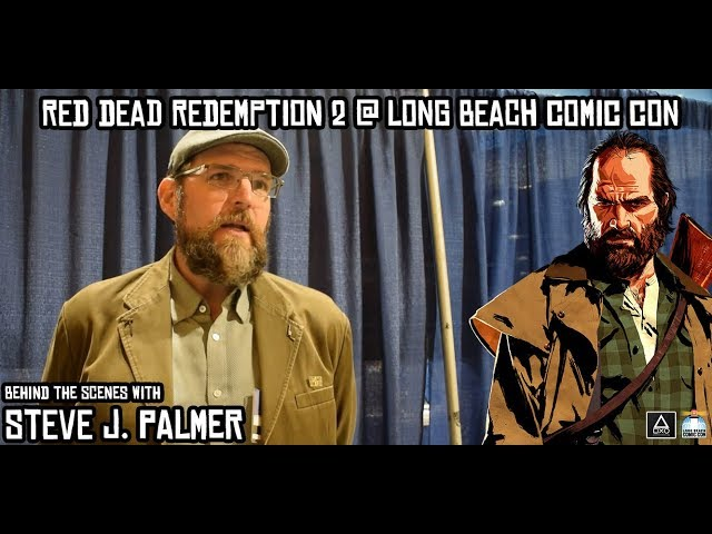 Long Beach Comic Con: Behind the Scenes With Steve J. Palmer