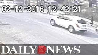 Victim in robbery runs over attempted crook