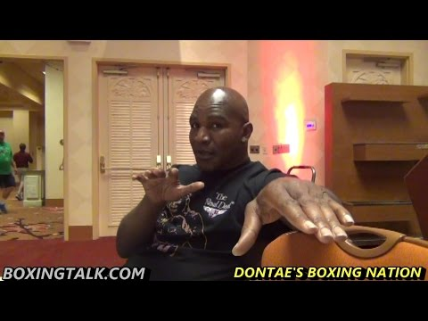 "HOLYFIELD: ""NOBODY OUT THERE CAN BEAT DEONTAY WILDER RIGHT NOW"""