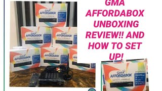 GMA Affordabox Unboxing , Review, and Tutorial