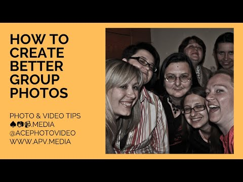 How To Create Better Group Photos
