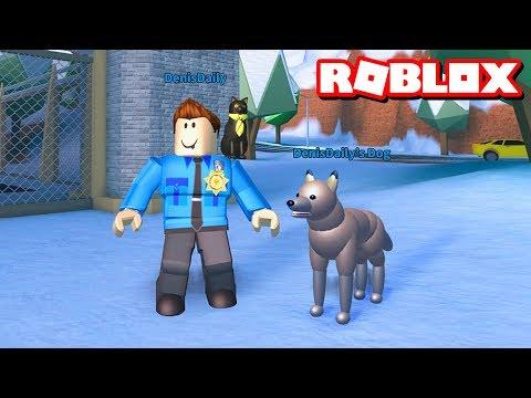 JAILBREAK POLICE DOGS!!   Roblox Jailbreak