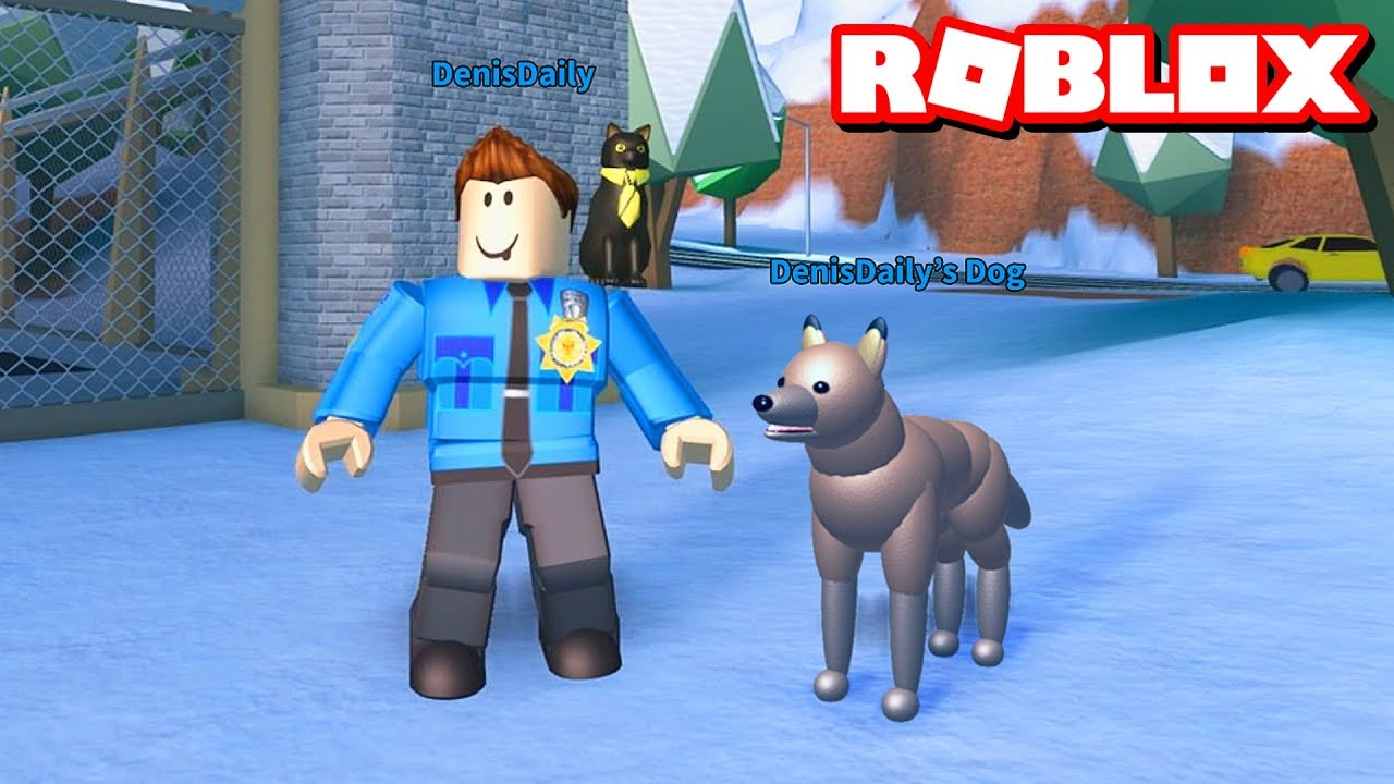 If Jailbreak Had Police Dogs Roblox Youtube