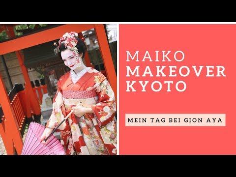 Maiko Makeover Bei Gion Aya | Kyoto