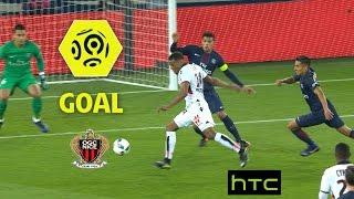 Goal Alassane PLEA (45' +3) / Paris Saint-Germain - OGC Nice (2-2)/ 2016-17