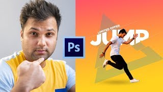 Creative Ways to use Text Glitch/Slice Effect in Photoshop for Banner Design - Hindi Tutorial