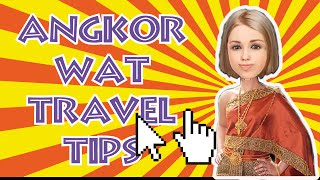 Angkor Wat Travel Tips-don't Miss Before Setting Out Your Journey!!