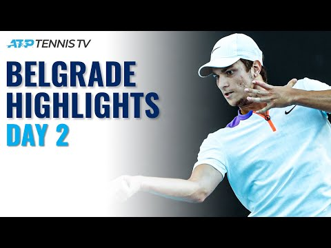 Kecmanović Takes On Bagnis; Bedene & Djere In Action | Serbia Open 2021 Highlights Day 2