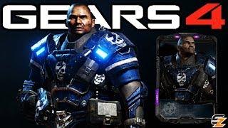 """Gears of War 4 - """"Male UIR Elite Vanguard"""" Character Multiplayer Gameplay! (UIR Vanguard DLC)"""