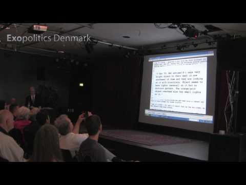 Robert Hastings - UFOs and Nukes - Copenhagen 8 June 2013