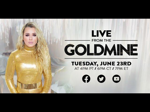 Gabby Barrett LIVE From The GOLDMINE - Album Release Livestream