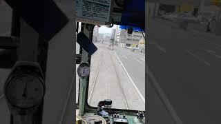 熊本市交通局  B系統 健軍町方面  西辛島町 辛島町   クロッシングレール