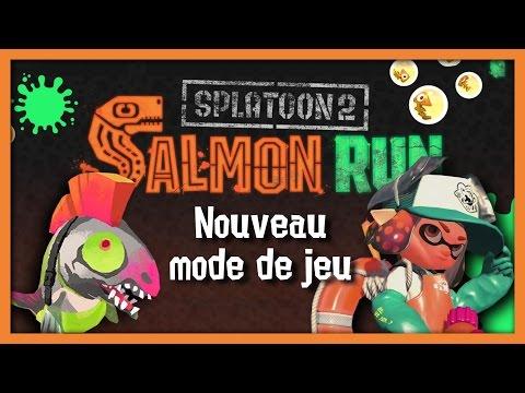 UN NOUVEAU MODE DE JEU DANS SPLATOON 2 : SALMON RUN