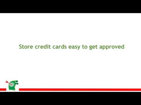 Store Credit Cards Easy To Get Approved
