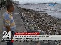 24 Oras: Basura at masangsang na amoy, panira sa Manila Bay