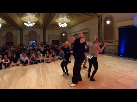 West Coast Swing | Kyle Redd + Sarah Vann Drake | Champion JJ Prelim - Desert City Swing