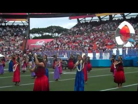 2011 NFL Pro Bowl in Hawaii  - Hawaii State Anthem