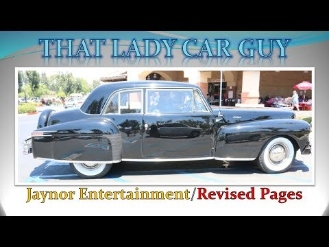 Lincoln Continental Luxury Classic Car SE That Lady Car - Classic car guy