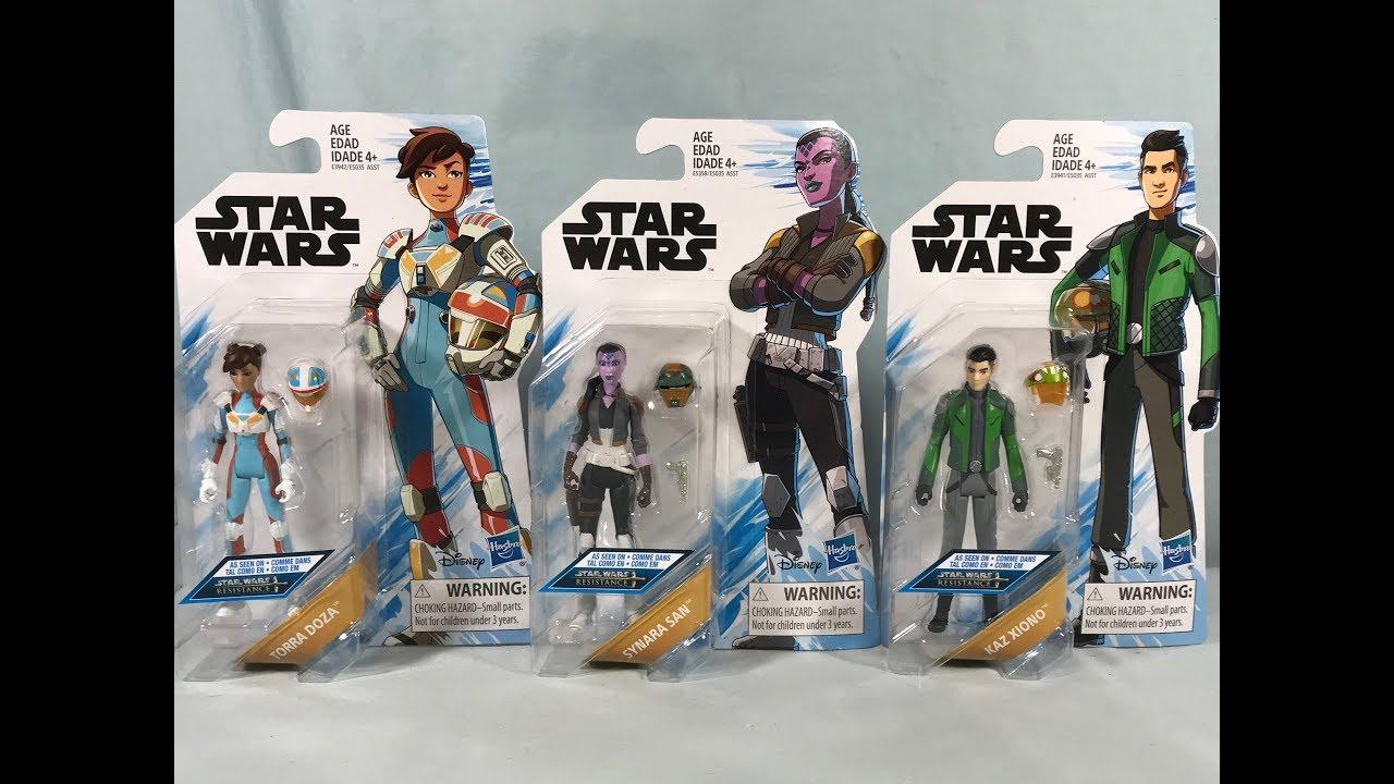 Star Wars Resistance Basic Figure Synara San Brand New