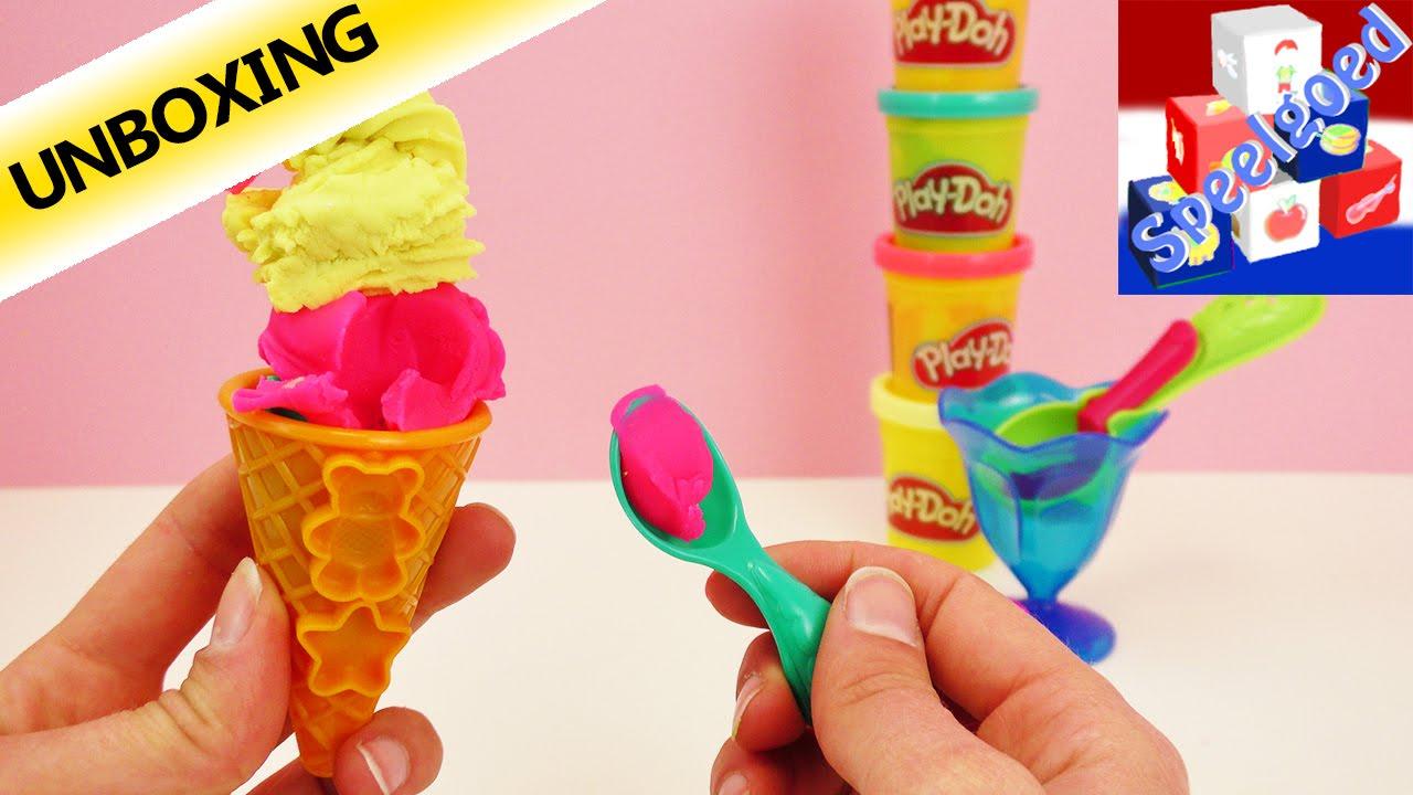Verrassend Play-Doh IJscreaties speelset om te kleien voor kinderen vanaf 3 ZW-67