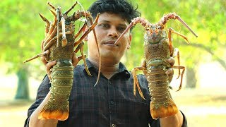 1.5 kg BIG LOBSTER | KING of LOBSTER GRAVY | Cooking Skill Village Food Channel
