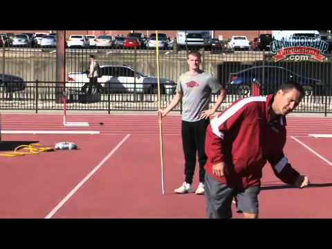 Arkansas Track And Field Presents Common Errors And Corrections Javelin