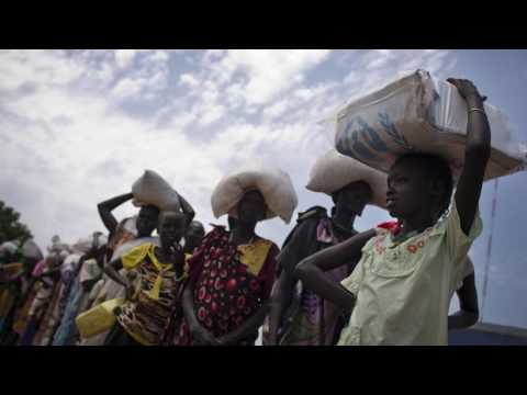 Displaced children in South Sudan speak out