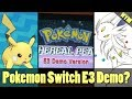 FAKE Nintendo Switch Gen 4 Gameplay, OLD Eevee Mega Evolution, Donation Event Pikachu
