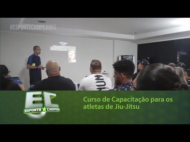 Curso de Capacitação para os atletas de Jiu-Jitsu