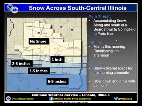 NWS Lincoln Multimedia Briefing - Winter Storm 5 am Feb 16, 2015