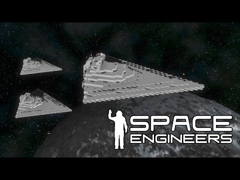 Space Engineers Live Stream - Star Wars - Lets Build a Star Wars Fleet Battle Live