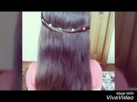 Прості зачіски з розпущеним волоссям 😉😃