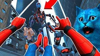 СИМУЛЯТОР ЧЕЛОВЕКА ПАУКА В ВИРТУАЛЬНОЙ РЕАЛЬНОСТИ ВДАЛИ ОТ ДОМА Spider Man Far From Home VR