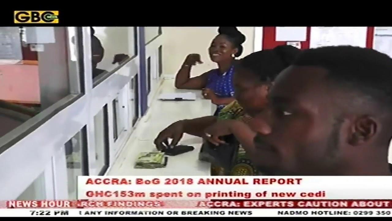 ¢153 million spent on printing of new cedi