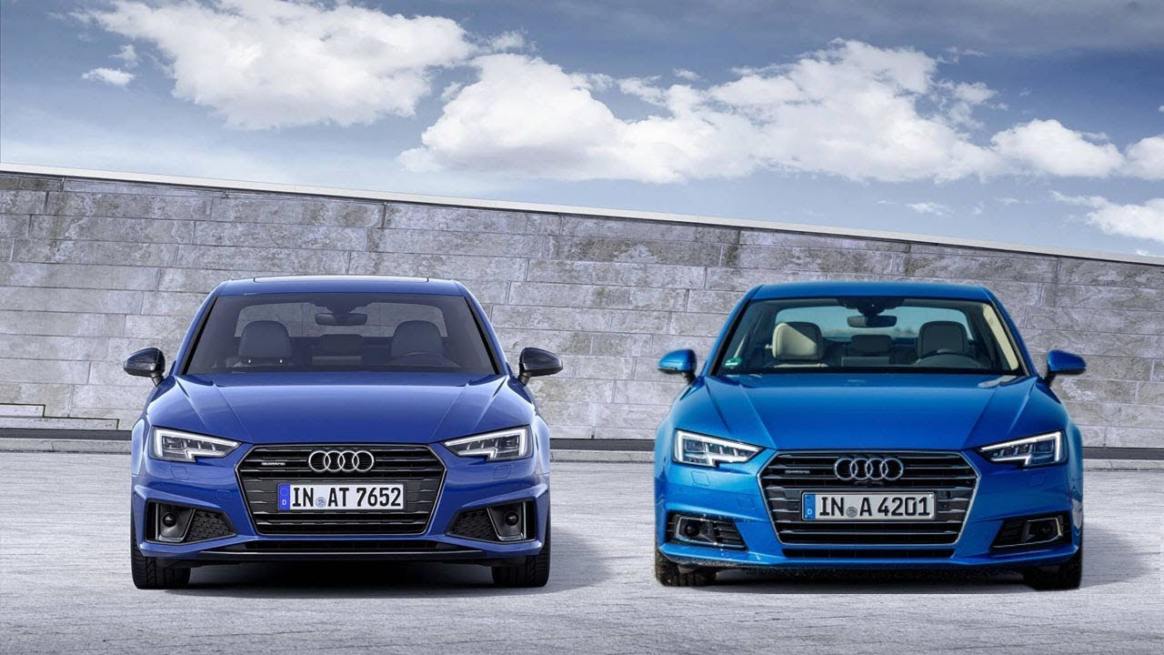 New 2019 Audi A4 Facelift Vs Old 2017
