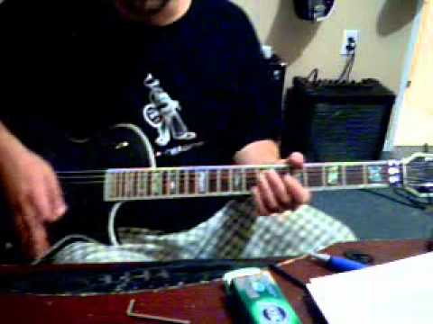 E Z Axe Lessonz Jukebox Hero Guitar Lesson Cover Part 1 Youtube