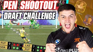 WINNING A FUT DRAFT WITH PENALTY SHOOTOUTS ONLY!!! FIFA 21 Ultimate Team