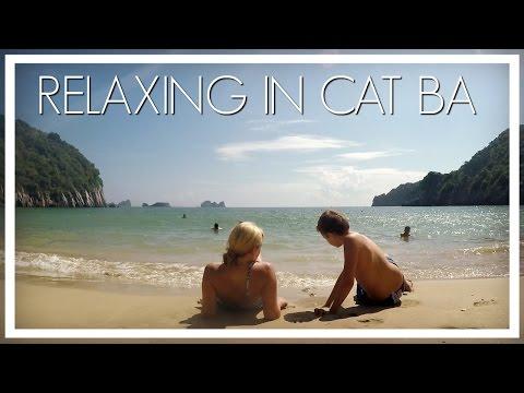 RELAXING IN CAT BA - Cat Co 1 Beach
