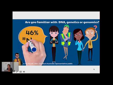 25 September 2017 - Engaging with our Research: Your DNA, Your Say