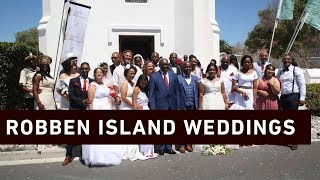 Dressed in white-laced wedding dresses and perfectly polished make up, beaming brides eagerly waited to marry their other halves.    Click here to subscribe to Eyewitness news:http://bit.ly/EWNSubscribe  Like and follow us on:http://bit.ly/ EWNFacebookANDhttps://twitter.com/ewnupdates  Keep up to date with all your local and international news:www.ewn.co.za  Produced by: Bertram Malgas