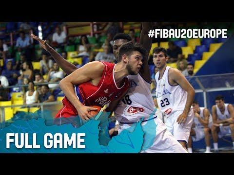 Italy v Serbia - Full Game - FIBA U20 European Championship 2017