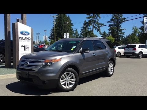 2014 Ford Explorer XLT W/Stowable 3rd Row Seats Review   Island Ford