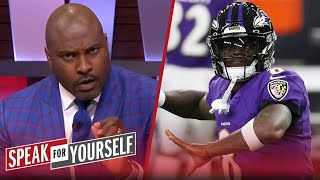 Lamar Jackson is the better QB to build around than Mahomes - Wiley | NFL | SPEAK FOR YOURSELF