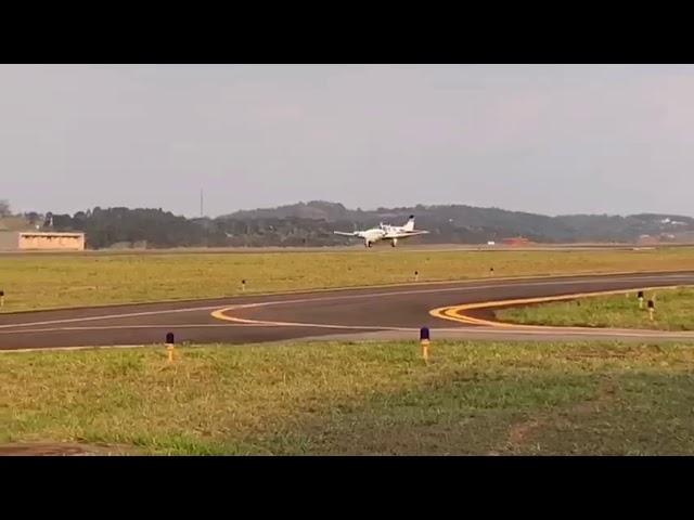 Acidente com aeronave deixa dois feridos em Bragança Paulista