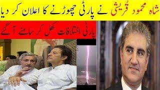 very dangrous decision of shah mehmood qureshi