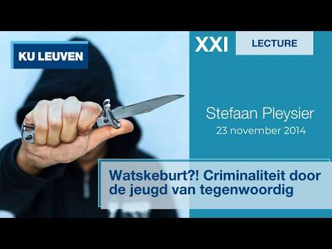 """Lessen voor de XXIe eeuw: """"Watskeburt?! Criminaliteit door de jeugd van tegenwoordig"""" - Prof. Put"""