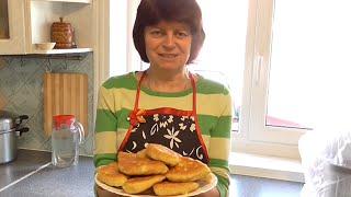 Пирожки с творогом  на сковородке  Рецепт бездрожжевого теста