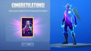 GALAXY SKIN UNLOCKED! | (all special features) | Fortnite Battle Royale